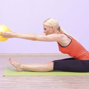 pilates fitball